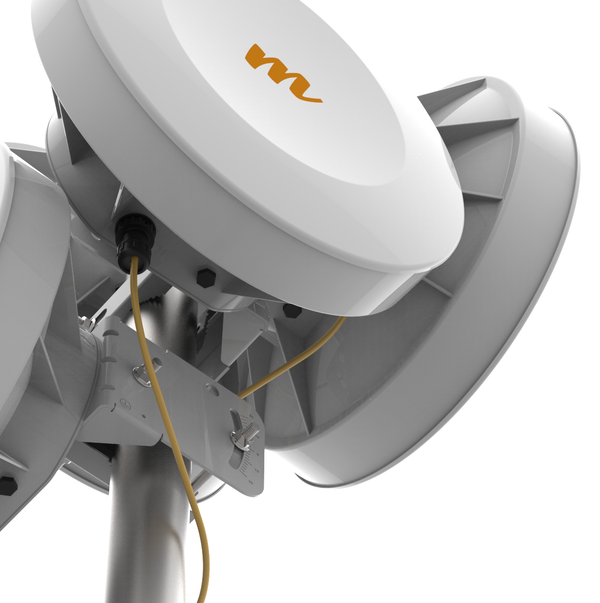 Mimosa B5-Lite,  5 GHz, 25 dBi, 1Gbps capable PTP backhaul with GPS