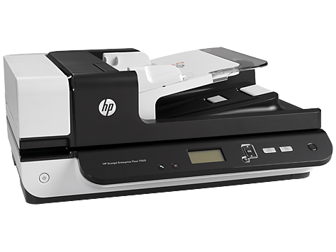 HP Scanjet Enterprise Flow 7500 Flatbed Scanner(L2725B) Document Scanners