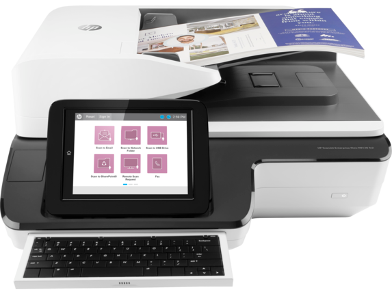 HP ScanJet Enterprise Flow N9120 fn2 Document Scanner - Benson Computers