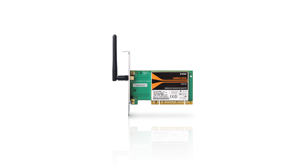 Wireless N 150 PCIe Adapter with external Antenna (DWA-525/EU)
