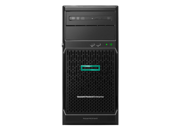 HPE ML30 Gen10 E-2124 1P 8GB NHP PS Entry Server - Benson Computers