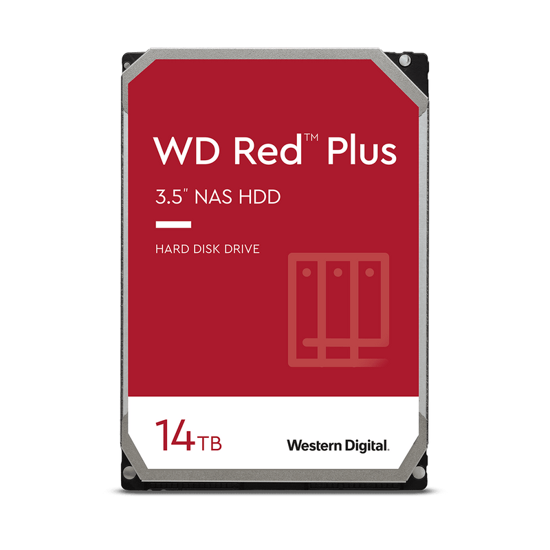 "Western Digital WD Red™ Plus NAS Hard Drive 3.5"" Internal Drives"