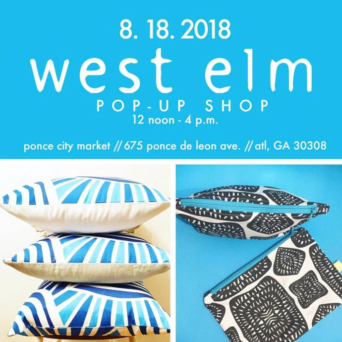 We're Poppin' Up (Again) at West Elm Ponce
