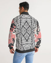 Coral Bloom Unisex Track Jacket