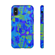 Blue Garden Phone Case