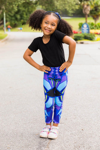 Wakanda for Now Kid's Leggings