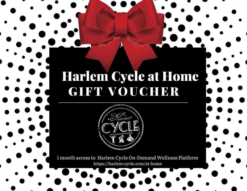 Harlem Cycle at Home Mother's Day Gift Voucher