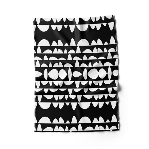 Humpday Black Tea Towel