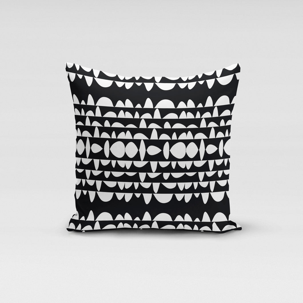Humpday Black Pillow Cover