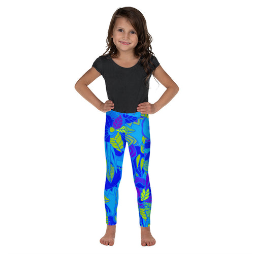 Blue Garden Kids Leggings