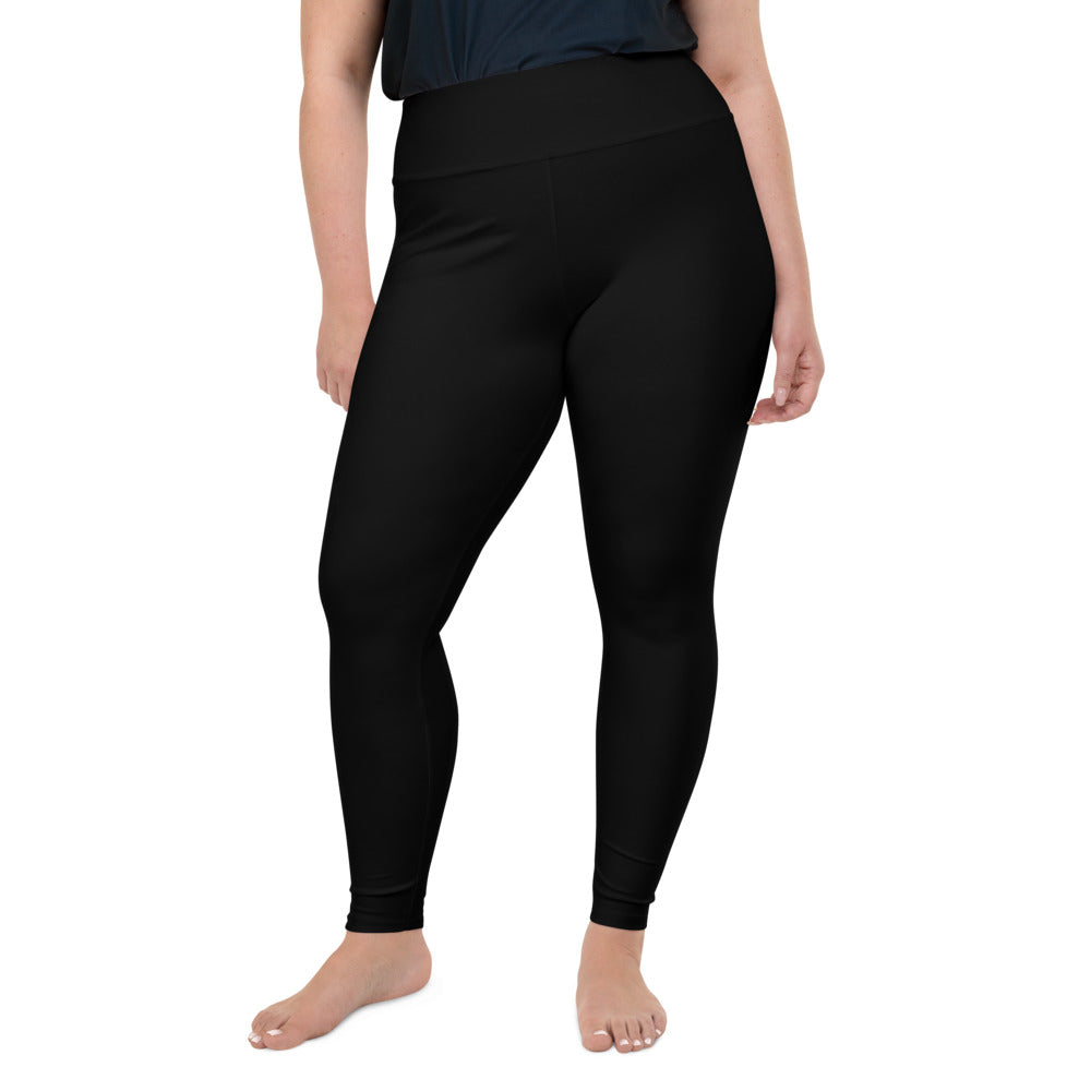 So Basic Black Plus Size Leggings