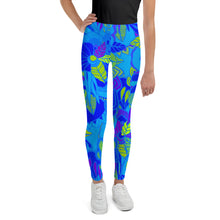 Blue Garden Youth Leggings