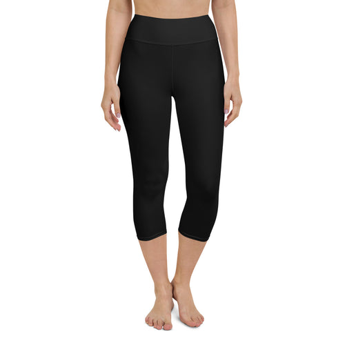 So Basic Black Capri Leggings