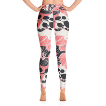 Coral Bloom Leggings
