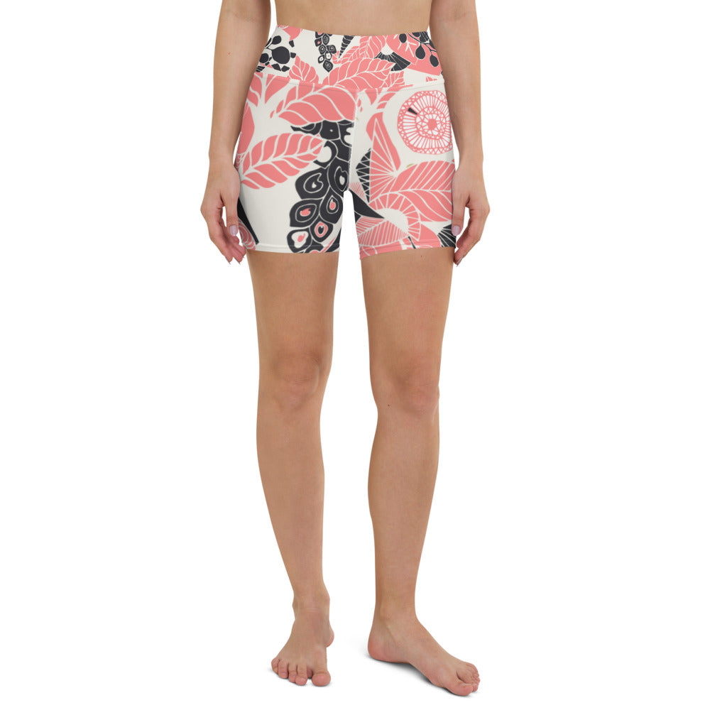 Coral Bloom Shorts