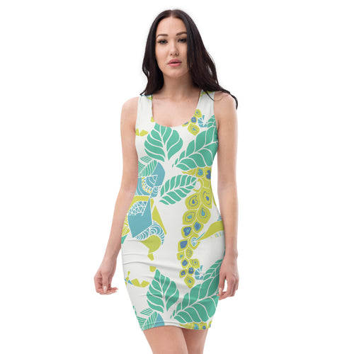 Green Papaya Body Con Dress
