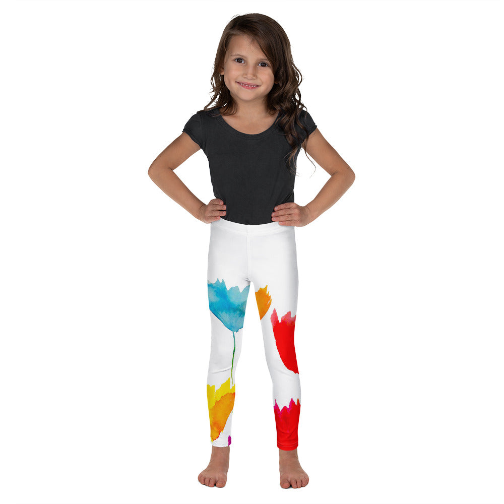 Flower Power Kids Leggings