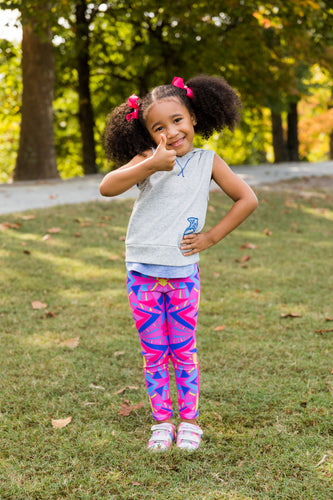 Pink Riot Kid's Leggings