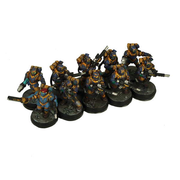 10-Man Straight Ferro-Resin Movement Tray