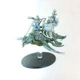 2x Medium Flat Magnetic Flight Stands Leviadon Idoneth Deepkin with Rock Anchors