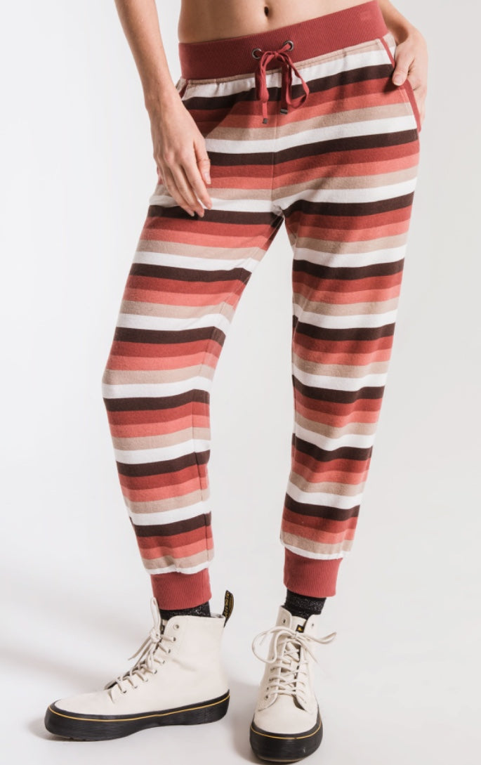 Rainbow Stp Cropped Jogger Mesa Red