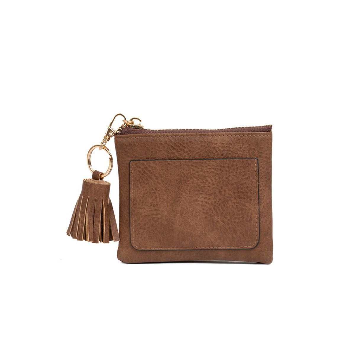 Lena Coin Pouch-Brown
