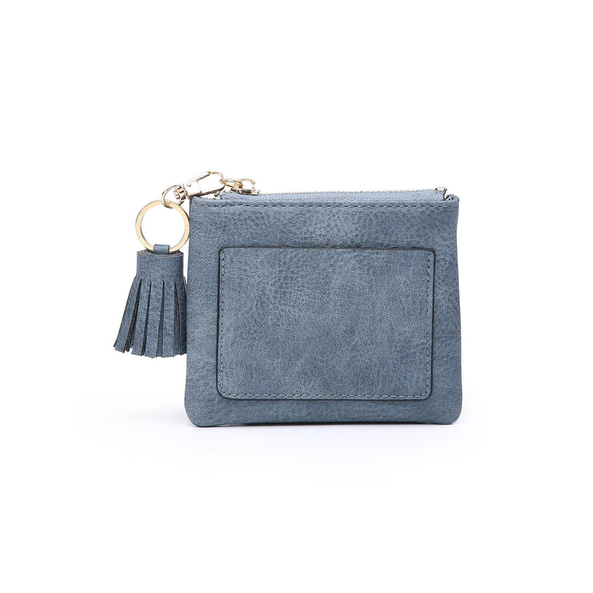 Lena Coin Pouch-Denim Blue