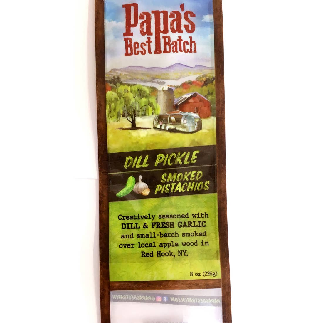 Papa's Best-Smoked Dill Pickle Pistachio