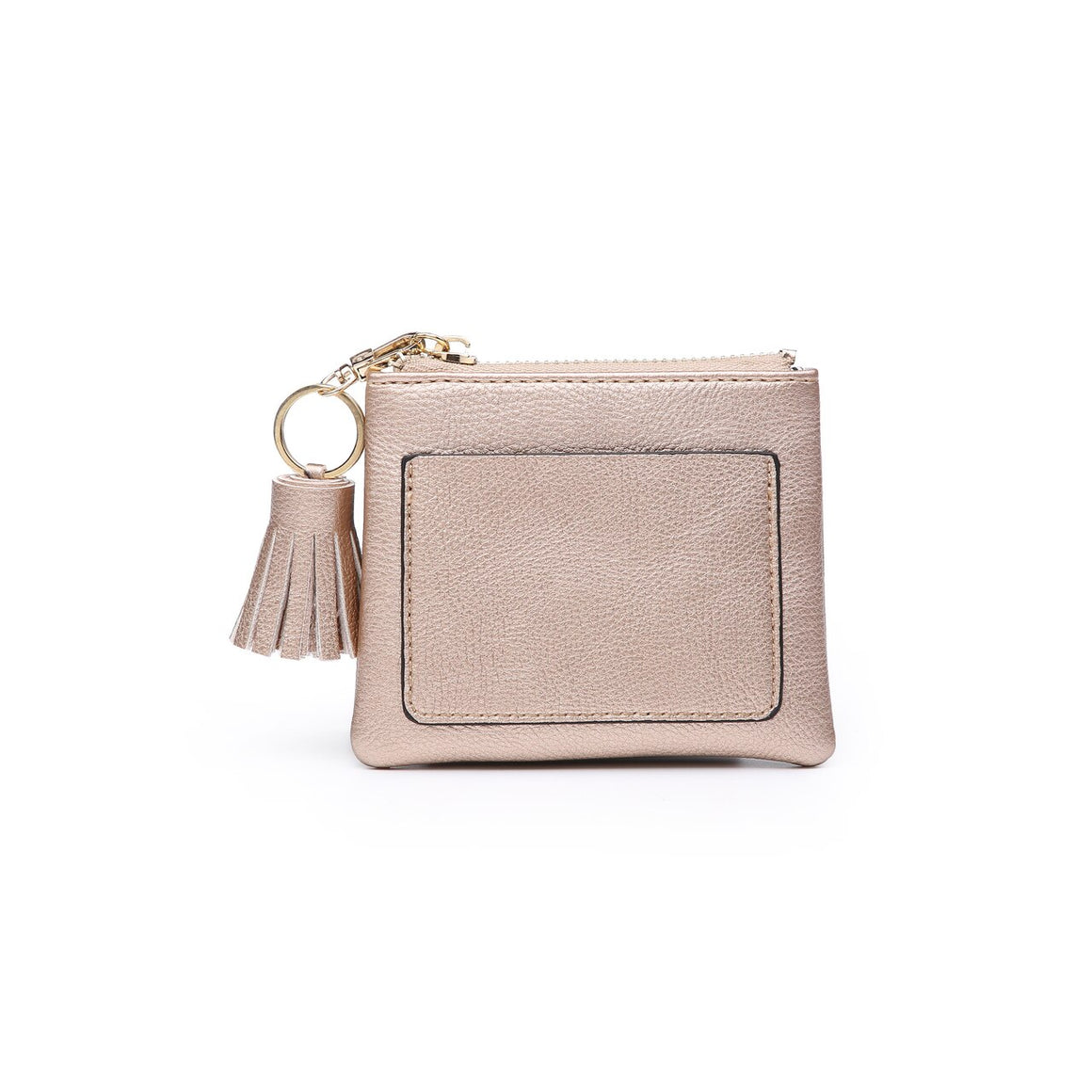 Lena Coin Pouch-Rose Gold