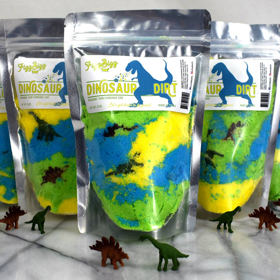 Dinosaur Dirt-Kids Bath Salts
