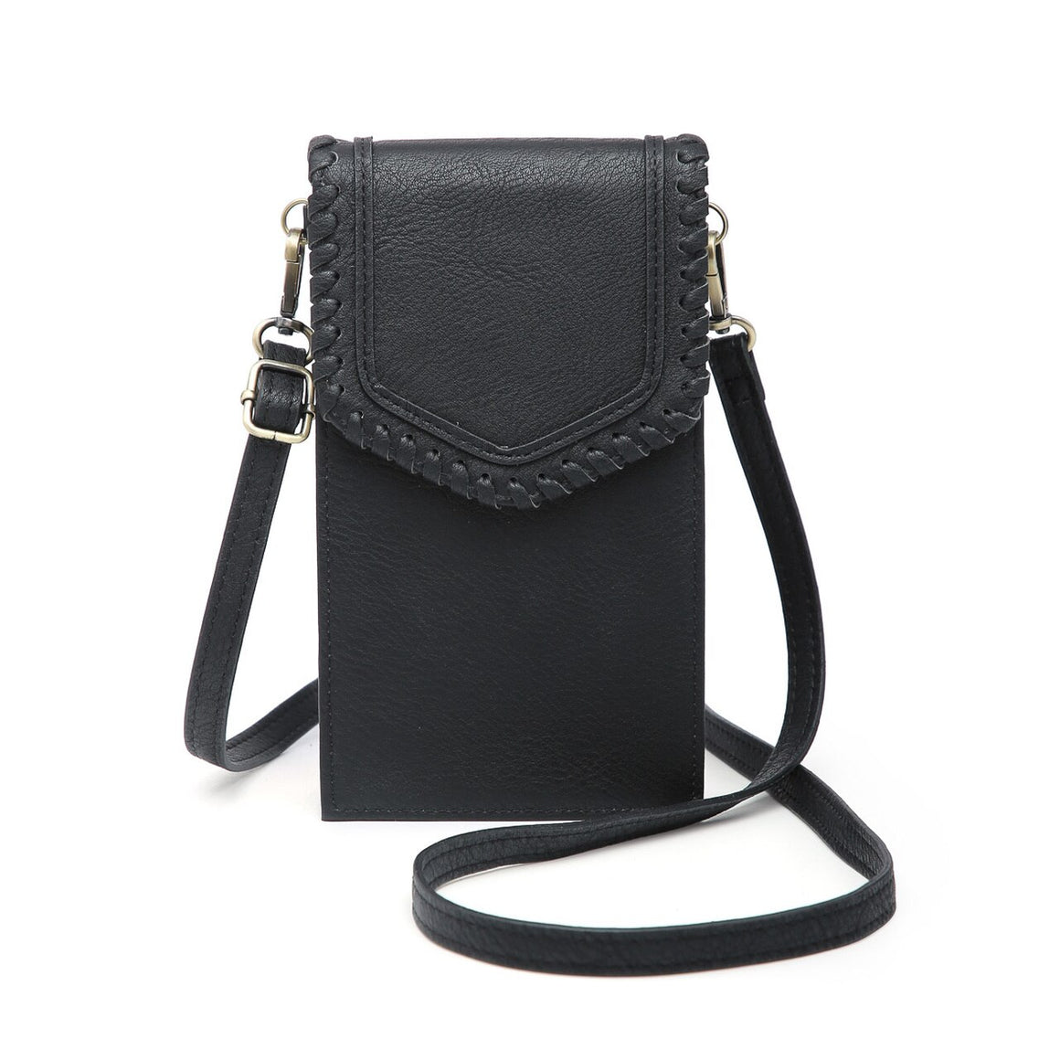 Carter Touch Screen Crossbody Everyday Collection-Black