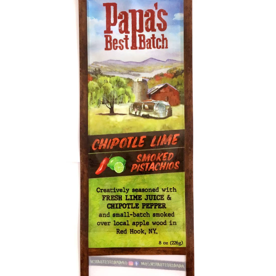 Papa's Best-Chipotle Lime Pistachio