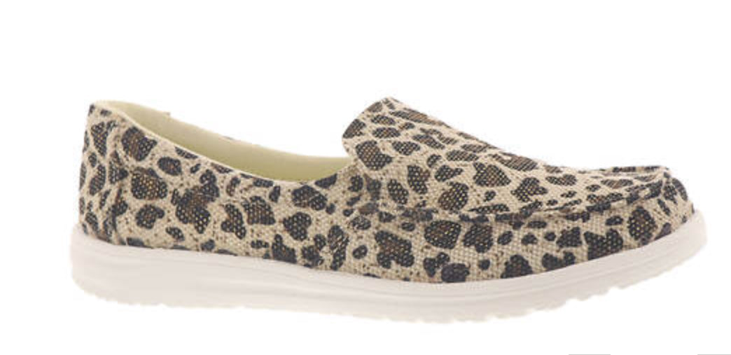Maya Slip On-Leopard-Not Rated