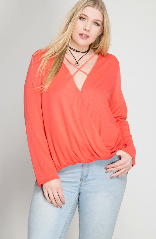 Criss-Cross Because You Can-Top Coral