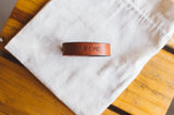 Give Life Leather Cuff