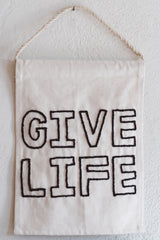 Give Life Banner