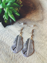 Feather Earrings, Multiple Finishes