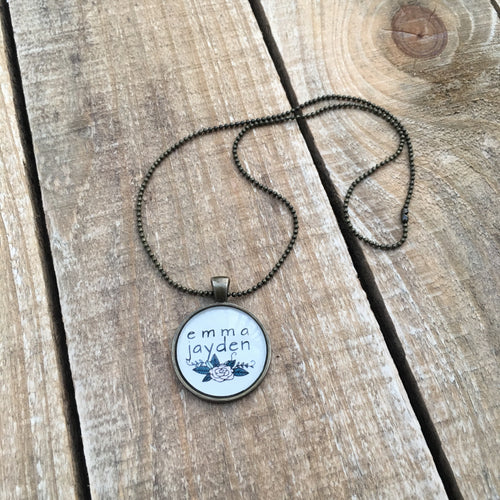 Baby's Name Necklace
