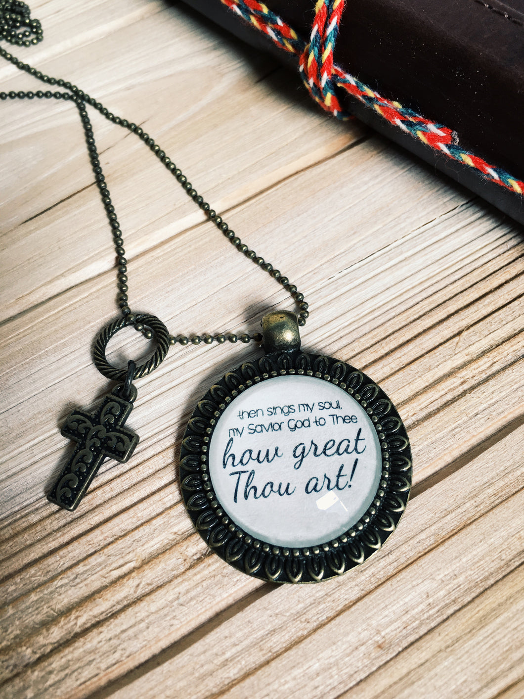 How Great Thou Art Necklace