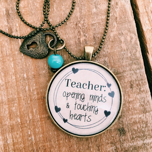 Teacher Necklace