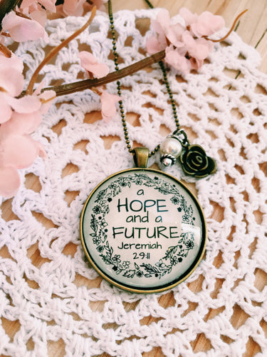 A Hope & A Future Necklace, Jeremiah 29:11