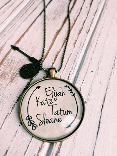 Custom Child's Name Necklace