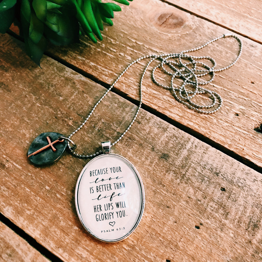 Your Love Is Better Necklace