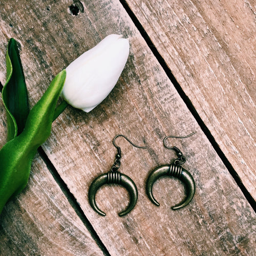 Boho Horseshoe Earrings