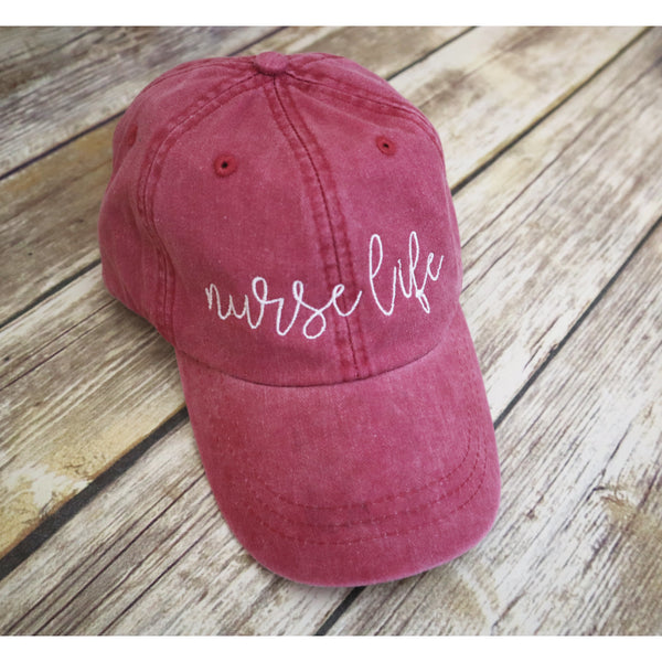 Nurse Life Baseball Hat