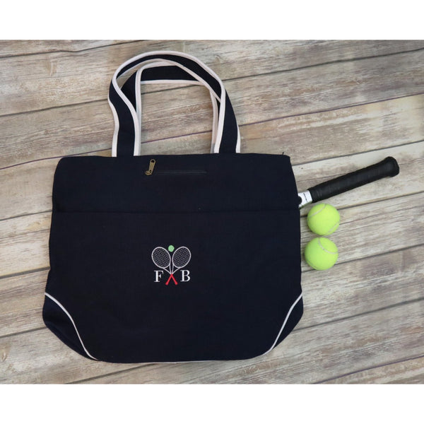 Personalized Tennis Racket Bag-AlfonsoDesigns