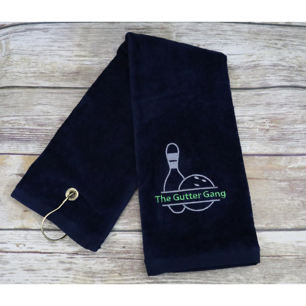 Bowling Team Personalized Towel-AlfonsoDesigns