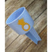 Pineapple Monogrammed Beach Spiker-AlfonsoDesigns