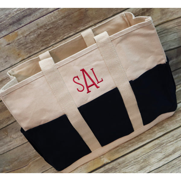 Personalized Carry All Pocket Tote Bag-AlfonsoDesigns