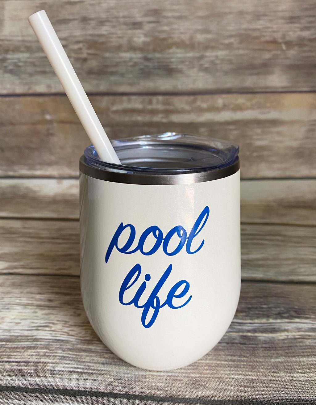 Pool Life Stainless Steel Wine Cup